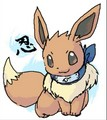 Ninja Eevee - eevee photo