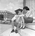 On Location In Rome, Italy - sir-roger-moore photo