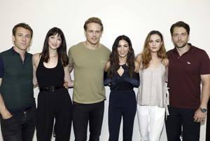 Outlander Cast at San Diego Comic Con 2017