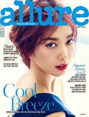 PARK SHIN HYE COVERS JULY 2017 ALLURE