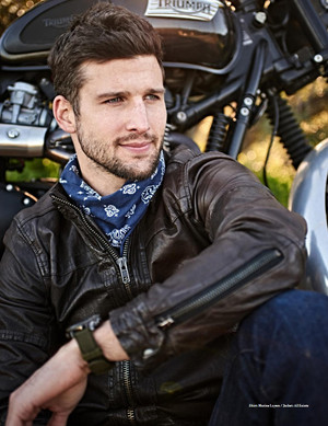 Parker Young - Man of Metropolis Photoshoot - 2017
