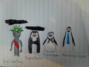 Penguins of Madagascar meets Sanders Sides