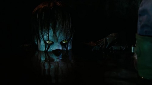 Film horror wallpaper titled Pennywise from IT (2017)