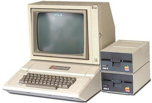 Personal Computer From The 1980's