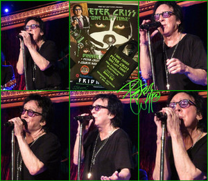 Peter Criss (The Cutting Room 06-17-2017)