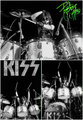 Peter (NYC) March 21, 1975  - kiss photo