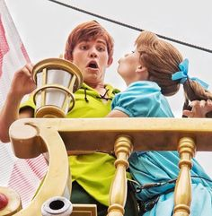 Peter Pan And Wendy Characters