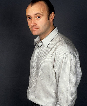 80's music wallpaper titled Phil Collins