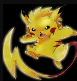 Pikachu Mega evolved