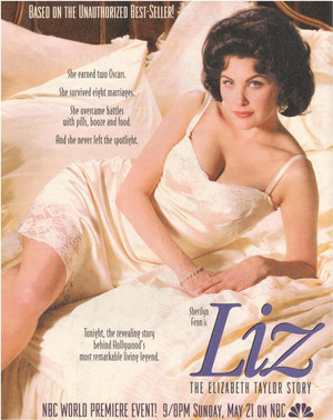 Poster 1995 Movie The Elizabeth Taylor Story