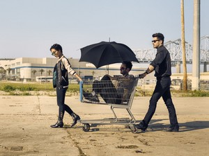 Preacher Season 2 Cassidy, tulp, tulip and Jesse Official Picture