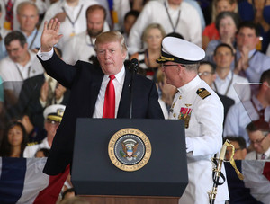 President Trump Attends Commissioning Ceremony for the USS Gerald R. Ford - July 22, 2017