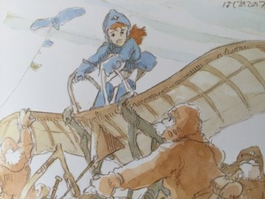 Production Sketches and Concept Work for Nausicaä of the Valley of the Wind - Hayao Miyazaki