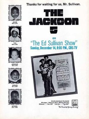 Promo Ad For The Ed Sullivan montrer