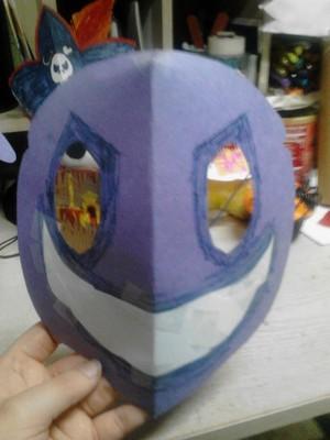 Purple Guy Mask