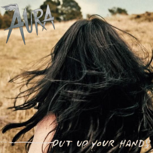 Aura Dione Fanclub karatasi la kupamba ukuta entitled Put Up Your Hands