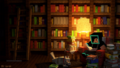 Reading at Night - techno_hamster wallpaper