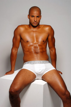 Ricky Whittle at James lincoln Photoshoot (2011)