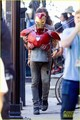 Robert Downey Jr. Films 'Avengers: Infinity War' with Benedict Cumberbatch - New Set Photos! - the-avengers photo