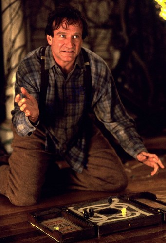 Jumanji দেওয়ালপত্র called Robin Williams as Alan Parrish