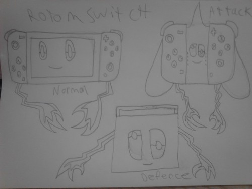 Mariposa Region RPG achtergrond entitled Rotom Switch