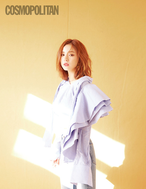 SHIN SE KYUNG LOOKS DREAMY FOR JULY 2017 COSMOPOLITAN