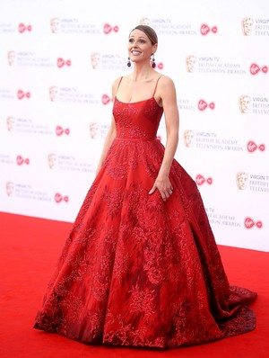 SURANNE JONES at 2017 British Academy Television Awards in London