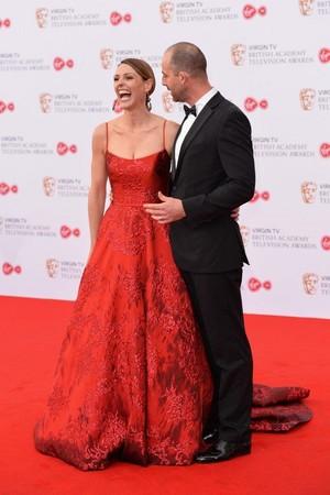 SURANNE JONES at 2017 British Academy Телевидение Awards in Лондон