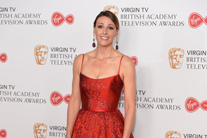 SURANNE JONES at 2017 British Academy Телевидение Awards in Лондон