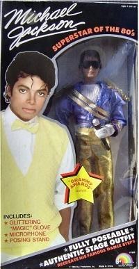 A Vintage Michael Jackson Doll