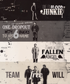 Sam, Dean and Castiel - supernatural fan art