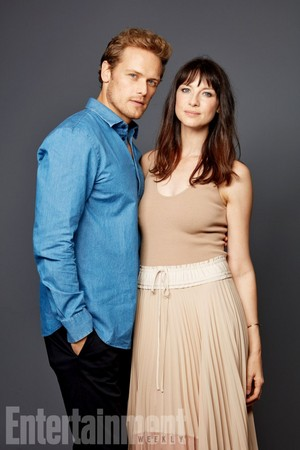 Sam Heughan and Outlander Cast at San Diego Comic Con 2017