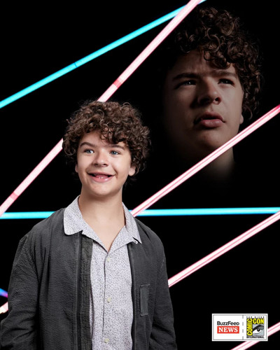 Stranger Things achtergrond called San Diego Comic-Con 2017 ~ Portrait ~ Dustin