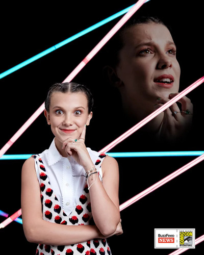 Stranger Things 壁紙 titled San Diego Comic-Con 2017 ~ Portrait ~ Eleven