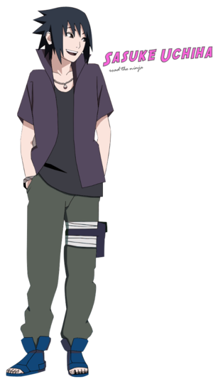 Sasuke Uchiha Road to Ninja