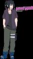 Sasuke Uchiha  Road to Ninja  - naruto fan art