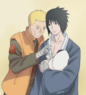 SasuNaru and Menma