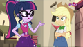 Sci-Twilight Sparkle and Applejack - my-little-pony-friendship-is-magic photo
