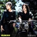 Season 8 First Look ~ Carol & Daryl - the-walking-dead photo