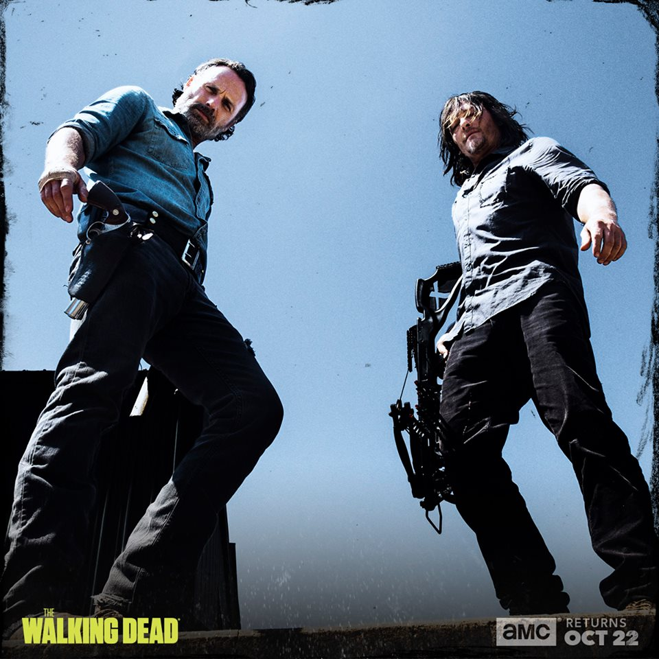 Season 8 First Look ~ Daryl & Rick