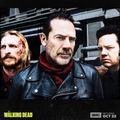 Season 8 First Look ~ Eugene, Dwight & Negan - the-walking-dead photo