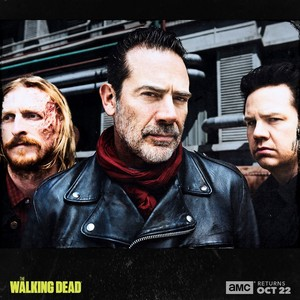 Season 8 First Look ~ Eugene, Dwight & Negan