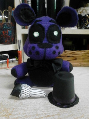 Shadow Freddy Plush  1