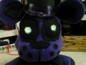 Shadow Freddy Plush 7