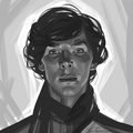 Sherlock  - benedict-cumberbatch fan art