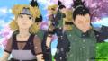 Shikamaru and Temari  - naruto fan art