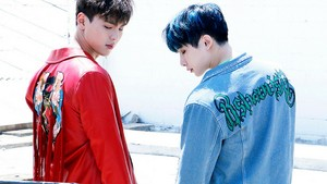 Shownu and Wonho Wallpaper