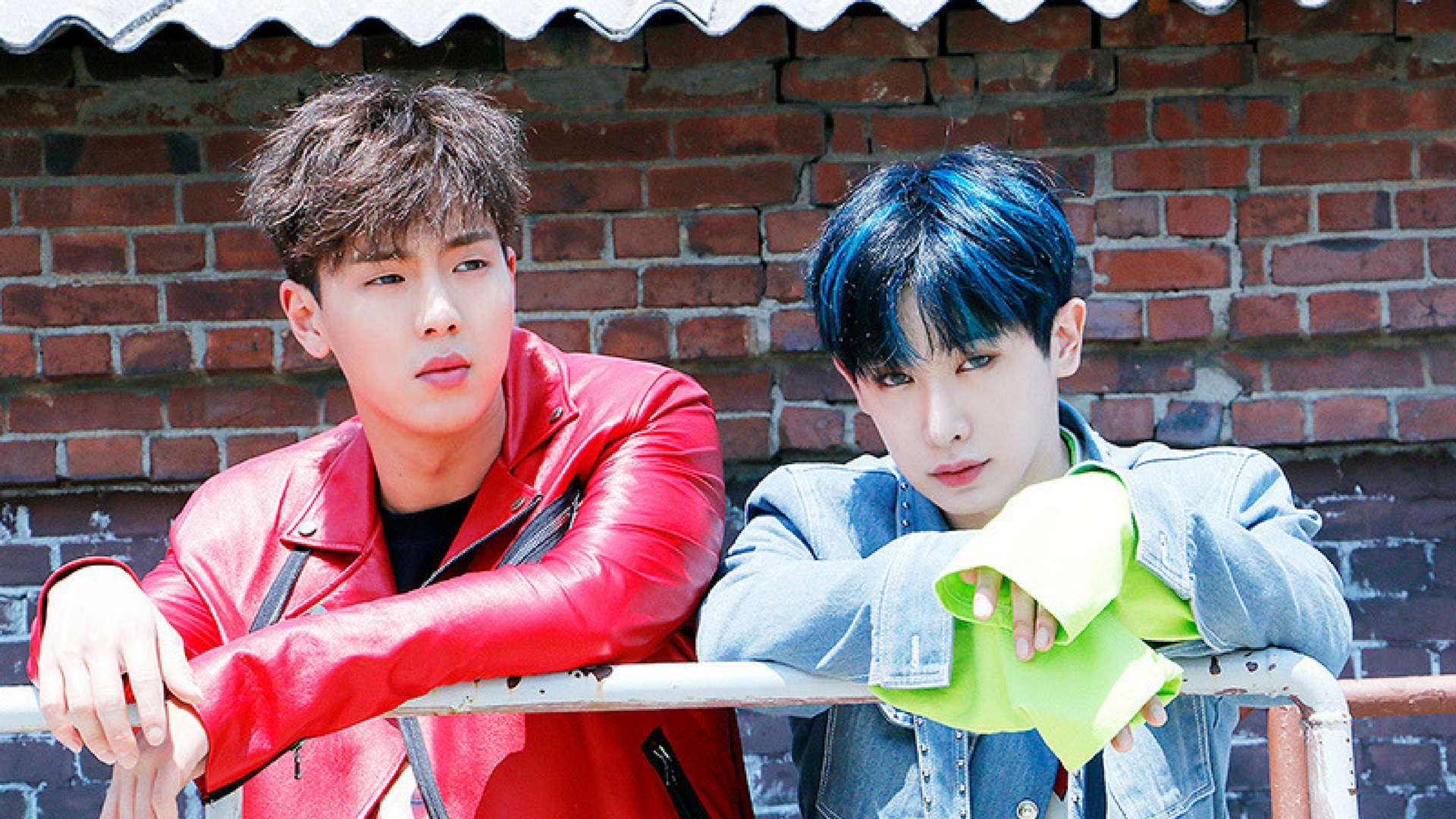 Shownu and Wonho Wallpaper