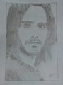Simple pencil art - jared-leto fan art