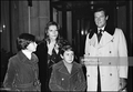 Sir Roger Moore With His Family  - sir-roger-moore photo